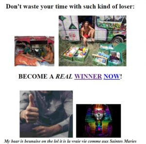 Become a winner